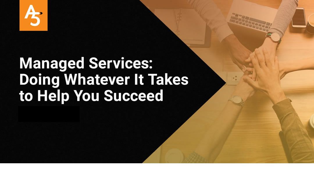 Managed Services: Doing Whatever It Takes to Help You Succeed