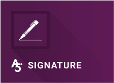 A5 Electronic Signature