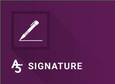 A5 Electronic Signature
